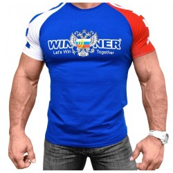 Klokov Team Winner Double-Headed Eagle Tri-Color T-Shirt